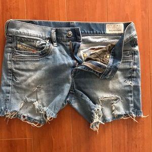 FINAL PRICE Diesel cut off jeans